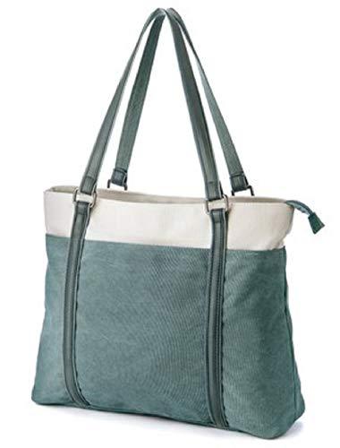 Une Messenger à à et Sac la Vert Souple Mode Sac épaule ZHRUI Toile Main Sac provisions en à à à Main Respirant qIgcSWwA