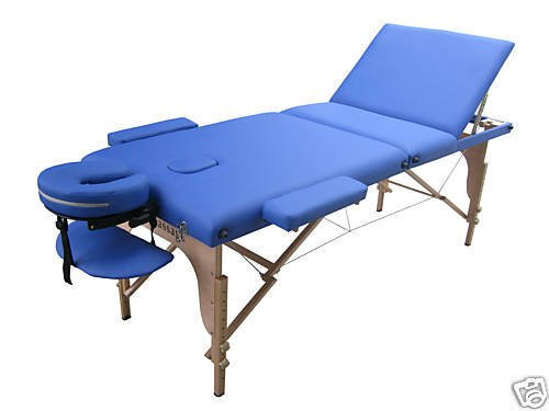 blue 2014 portable massage table