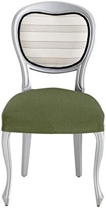 33x4x22 cm Pack 2 Ecru Eysa Ulises Housses de Chaise Couleur 00-/écru Polyester Coton