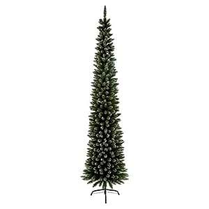 2 m nieve ropa de lápiz árbol de pino Artificial