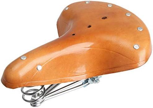 バイクレザーサドル、レトロな快適防水シート、乗用機器用レザーオールドモデルバイクサドルカバー