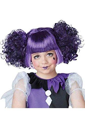 Gothic Dolly Wig (Gothic Dolly Wig Costume Accessory)