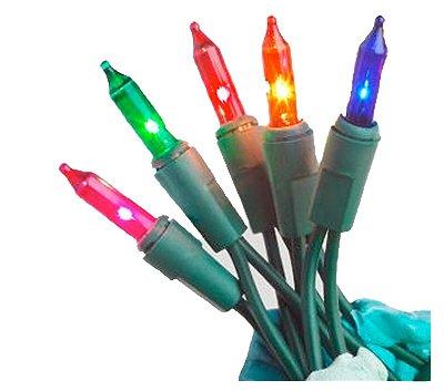 Noma/Inliten-Import 48151-88 Christmas Mini Light Set, 300 Multi-Color Lights