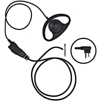 IMPACT D-Ring Earhanger Earpiece for Motorola 2-Pin Radio (M1-S1W-D2)