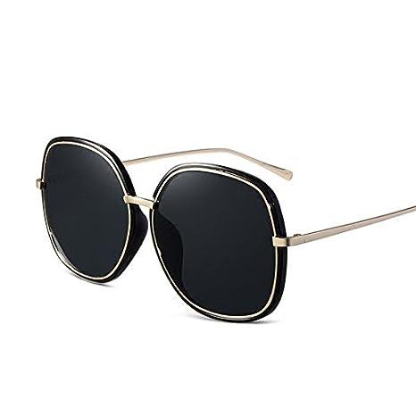 Sunyan mode des lunettes de soleil, lunettes plaque coréen, mince filet, plage rouge lunettes de soleil, crème solaire nouveau lumineux,mercure noir blanc