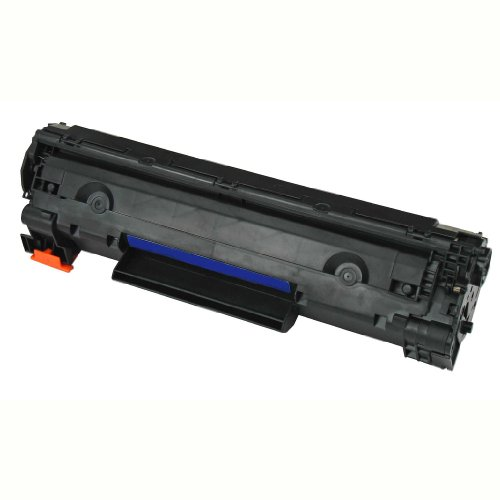 Generic Compatible Toner Cartridge Replacement for HP CE278A (Black, 2-Pack)