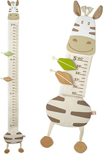 I'm Wood and Fabric Wall Growth Chart, Height Measurement, Scale, Ruler for Kids (Horse)