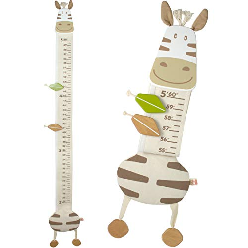 I'm Wood and Fabric Wall Growth Chart, Height Measurement, Scale, Ruler for Kids (Horse)]()