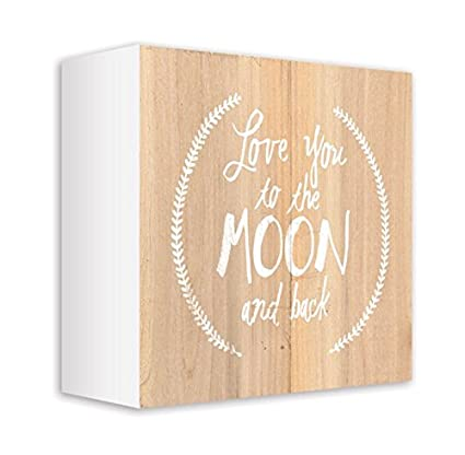 Amazon ReLive Decorative Expressions Love You To The Moon And