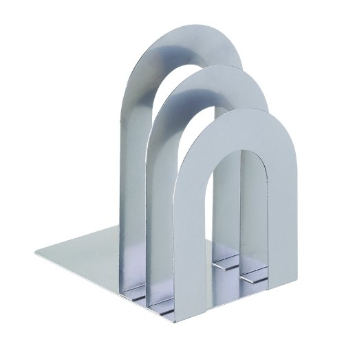 ookend Sorter, Curved, 8.06 x 7 x 5 Inches, Silver (241873R50) ()