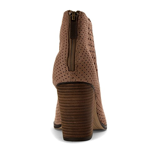 Anche Io Womens Frankee Boots In Palissandro Nubuck