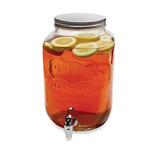 Circleware TEA Mason Drink Dispenser with Metal and Spigot, Gallo