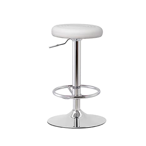 Cool Amazon Com Gy Rotate Bar Stool Pu Leather Round Seat Dailytribune Chair Design For Home Dailytribuneorg