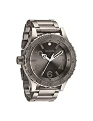 Nixon Men's 51-30 A351703 Grey Titanium Swiss Quartz Watch