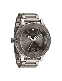Nixon Men's 51-30 A351703 Grey Titanium Swiss Quartz Watch
