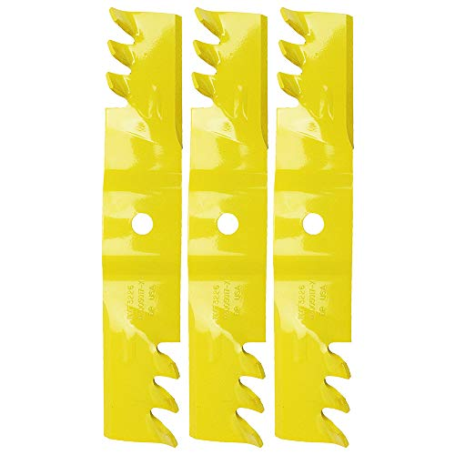 "1 Set of 3 OEM Extreme Blades for Deck MTD Cub Cadet Troy Bilt 48"" Deck Zero Turn Mowers 02005017-X"