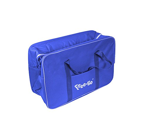 fair Borsa Frigo FREE-GO Con Manici e Tracolla Tasca Tinta Unica Borsa Termica 14 Litri Blu