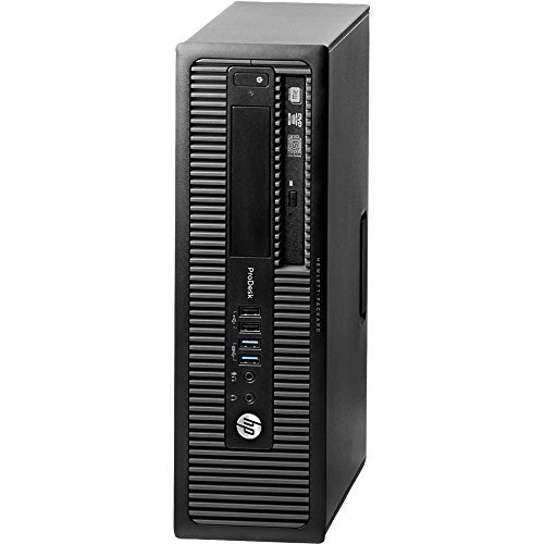 2017 HP ProDesk 600 G1 High Performance Business Small Factor Desktop Computer, Intel Core i3 4130 3.4 GHz, 8GB RAM, 500GB HDD, DVD, WiFi, Windows 10 Professional (Certified Refurbished) (600 Prodesk G1 Hp Sff)