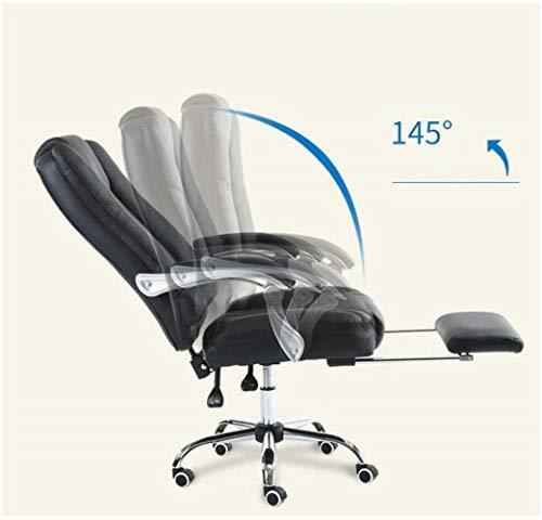 Barstolar Xiuyun kontorsstol spelstol datorstol, 145 graders multifunktion justerbar vilande stol för dator sport sovrum fritid svängbar stol (färg: Stil2)