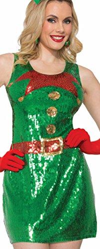 Forum Sequin Elf Dress M/l