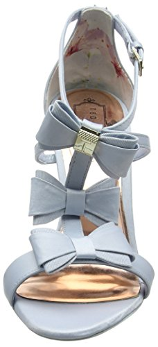 Ted Baker 916205, Sandalias de Tacón Mujer Azul (Light Blue)