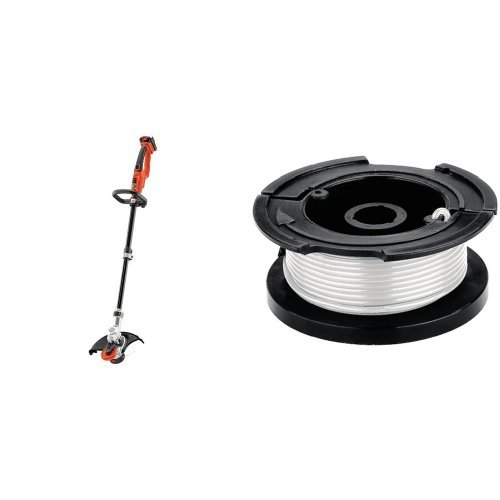 Black & Decker LST400 12-Inch Lithium High Performance Trimmer and Edger, 20-volt with AF-100 Replacement Spool