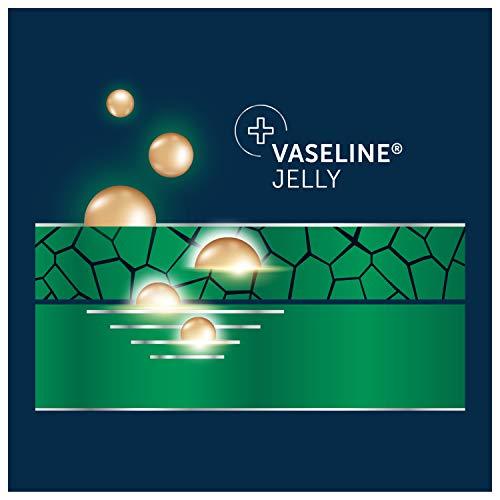 Vaseline Men Healing Moisture Body Lotion For Dry Skin Fast Absorbing Absorbs in Just 15 Skin For Moisturized Skin 20.3 oz 3 count 8