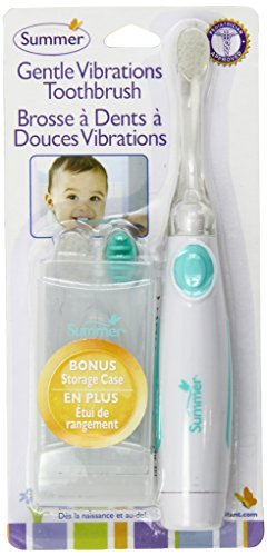 Amazon.com : Suave Vibraciones Cepillo de dientes, trullo / blanco : Baby