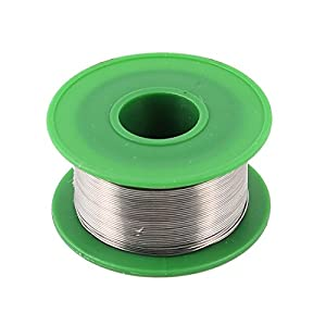 uxcell 0.5mm 63/37 Tin Lead Soldering Solder Wire Rosin Core Reel Roll from uxcell