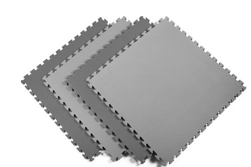 Norsk Sport Multi-Purpose Reversible Foam Mats - EVA Foam Interlocking Tiles (Norsk Reversible Multi Purpose Flooring 8 Pack)