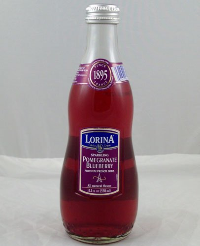 Lorina Sparkling Pomegranate Blueberry 11.1 OZ (Pack of 12)