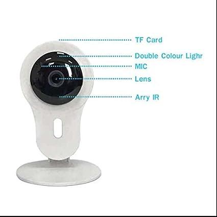 doméstica HD Vigilancia WIFI, Remote de reproducción, Motion Detection WiFi de red IP cámara
