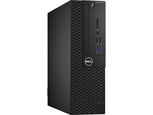 Dell OptiPlex Small form factor Business Desktop PC, Intel i5-7500 Quad-Core 3.4 GHz Processor, 8GB DDR4, 256GB SSD, Ethernet, DVD±RW, Display Port/HDMI, Windows 10 Pro, includes Keyboard and Mouse by Dell