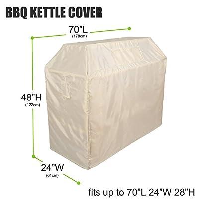Deconovo Patio Outdoor Porch BBQ Waterproof Heavy Duty Grill Cover