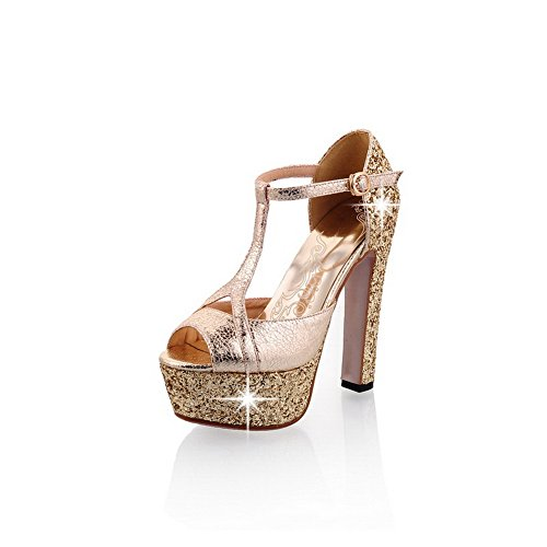 Adee , Sandales pour femme - Or - doré, 38 EU