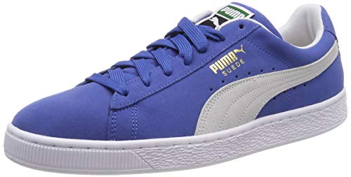 Classic Suede Adulto Zapatillas Puma Blue Unisex 64 olympian Azul white TO6xnqRUx