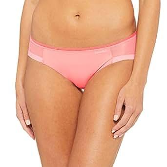 Calvin Klein Women's Sculpted Bikini, Bright Quartz, Small