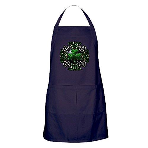- CafePress St. Patrick's Day Celtic Knot Kitchen Apron with Pockets, Grilling Apron, Baking Apron