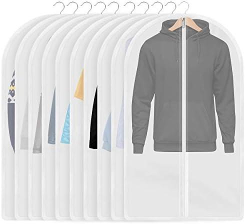 [スポンサー プロダクト]InnoGear 10枚洋服カバー 衣類カバー 防塵/防湿/防カビ/防水/防虫カバー 60㎝×100㎝