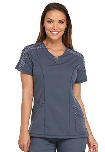 Dickies Dynamix Shaped V-Neck Scrub Top