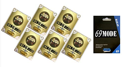 Royal King 30000 6 Pills 69 Mode 1 Pill Best Male Enhancing Natural Performance Capsules New Premierzen Most Effective Natural Amplifier for Performance, Energy, and Endurance (King(6)69M(1))