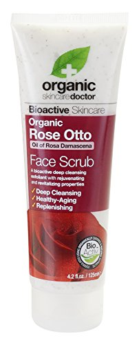 Organic Doctor Organic Rose Otto Face Scrub, 4.2 fl.oz. (Doctor Face)