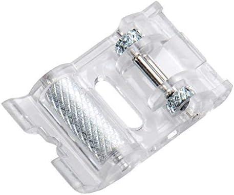 Pie de rodillo transparente para Brother VX1010, VX1040, VX1060 ...