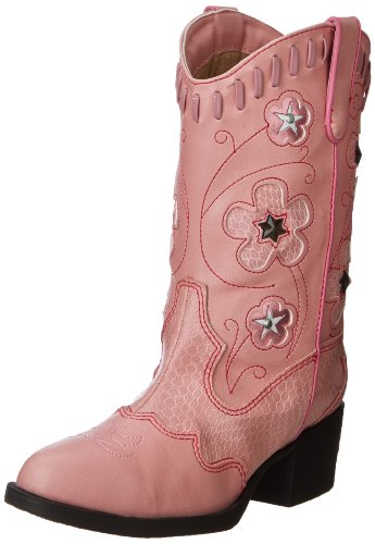 Roper Light Up Flowers Western Boot (Toddler/Little Kid),Pink,11 M US Little Kid]()