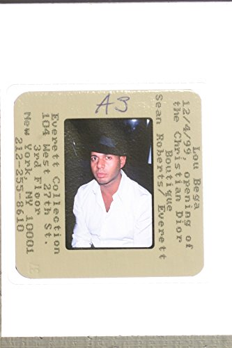 Slides photo of Lou Bega in the Opening of Christian Dior Boutique, 1999.