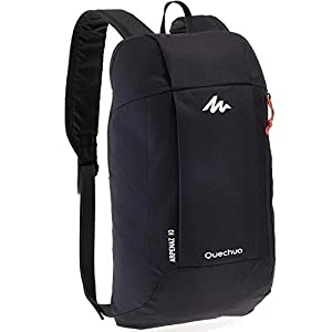 Quechua Kids Adults X-Sports Decathlon 10L Outdoor Day Backpack Small - Dark Charcoal