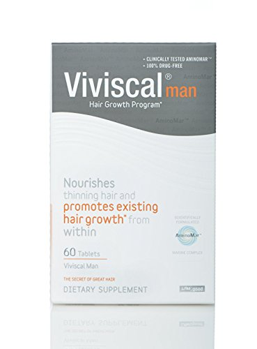 Hair Loss Vitamins for Men Promotes Healthy Thicker Hair Viviscal Hair Nutrient About Hair by ABOUT HAIR
