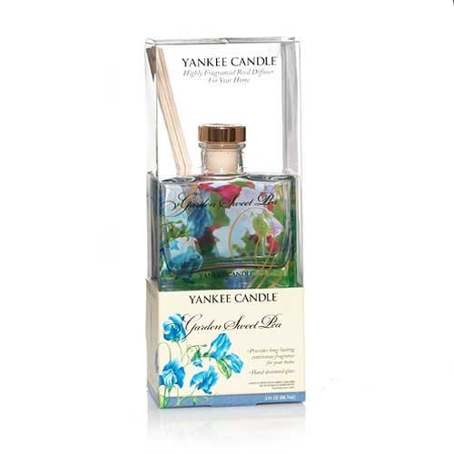 BuddyDee Garden Sweet Pea Reed Diffuser (Yankee Candle Signature Collection)