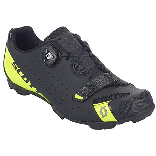 Scott Scarpe Shoes MTB Comp Boa Colore Nero-Giallo Fluo Taglia 42