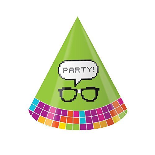 Get Nerdy - Nerd Party Child Size Cone Hats (8 ct) (Nerdy Girl Costume Ideas)